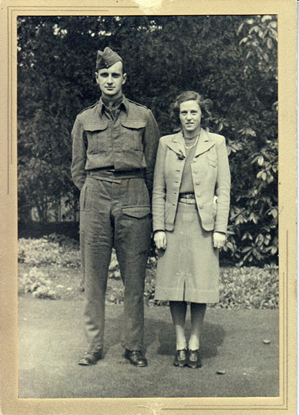 John Buxton and Marjorie 1940