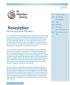 Marcham Society Newsletter